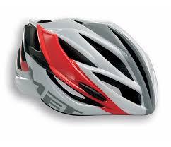 hjelm forte hvid rød grå