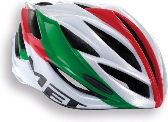 hjelm inferno grøn rød hvid