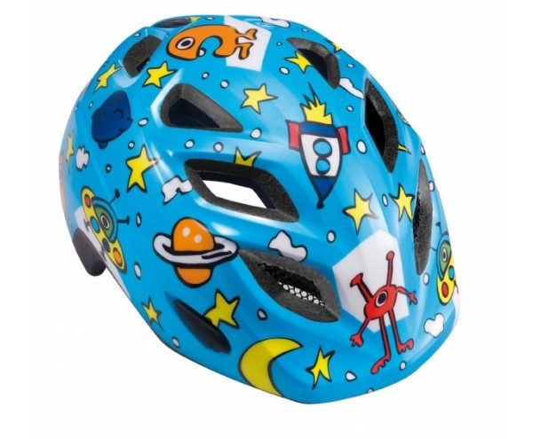 hjelm met blå